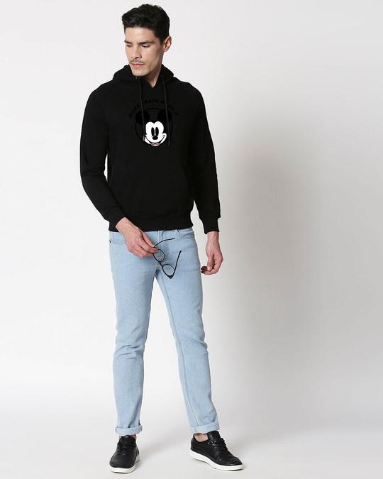 Shop Mickey Made Me Hoodie Sweatshirt-Design