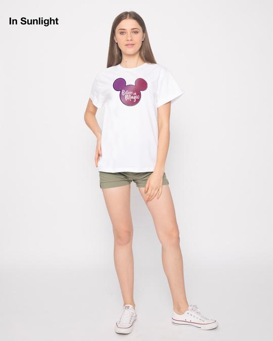Shop Mickey Magic Sun Active T-Shirt (DL)-Back