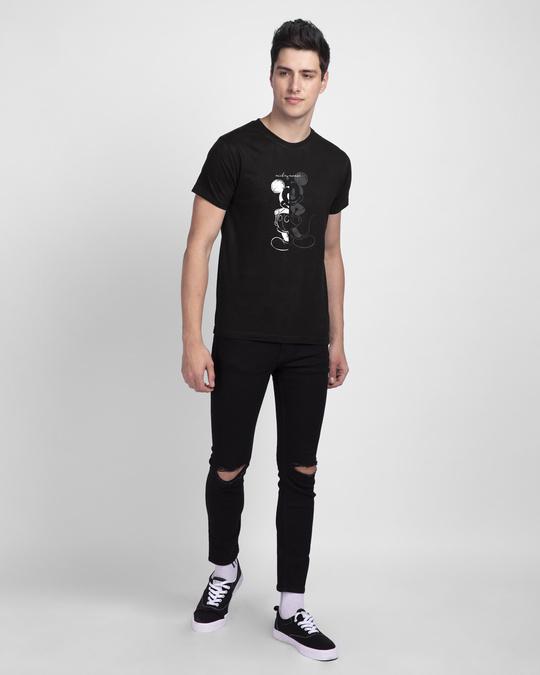 Shop Mickey Mouse Sketch Half Sleeve T-Shirt (DL)-Design