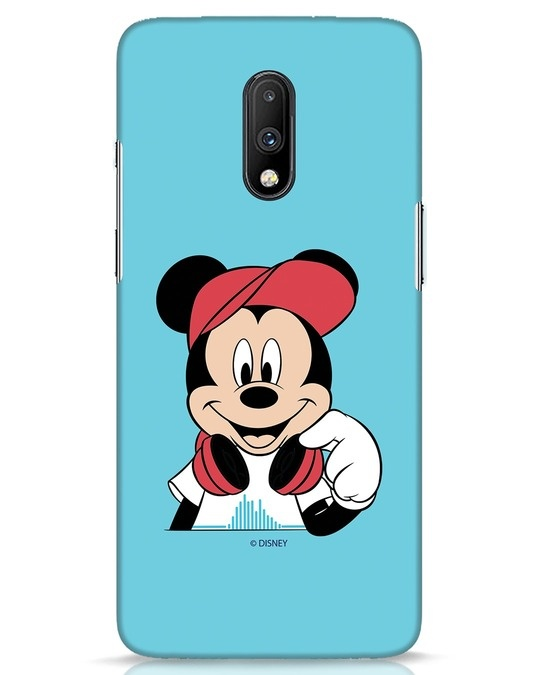 Shop Mickey Music OnePlus 7 Mobile Cover (DL)-Front
