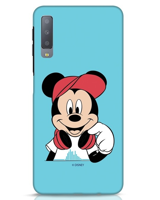 Shop Mickey Music Samsung Galaxy A7 Mobile Cover (DL)-Front