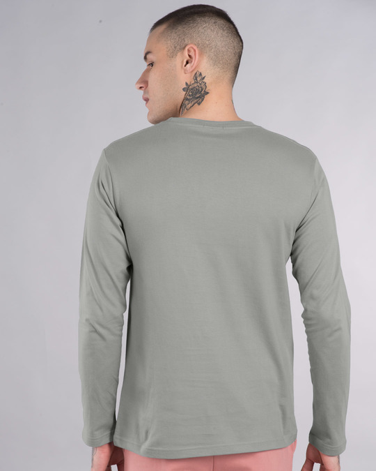 Shop Mickey No Excuses Full Sleeve T-Shirt (DL)-Back
