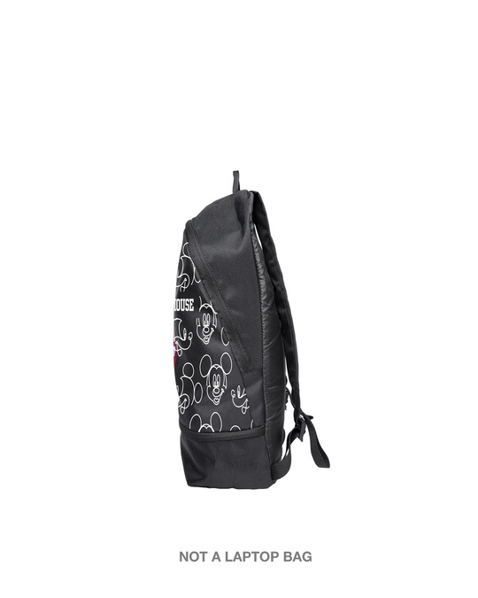 Shop Mickey Outline Small Backpacks (DL)-Back