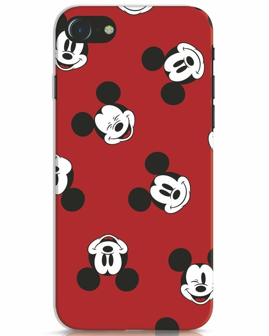 Shop Mickey Pattern iPhone 8 Mobile Cover-Front