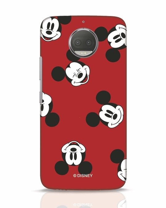 Shop Mickey Pattern Moto G5s Plus Mobile Cover-Front