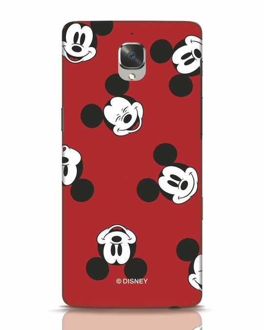Shop Mickey Pattern OnePlus 3T Mobile Cover-Front