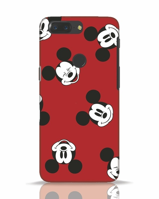 Shop Mickey Pattern OnePlus 5T Mobile Cover-Front