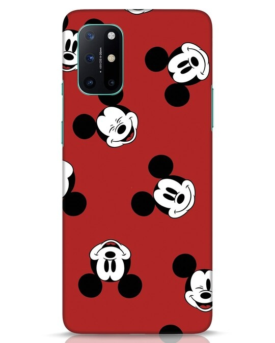 Shop Mickey Pattern OnePlus 8T Mobile Cover-Front