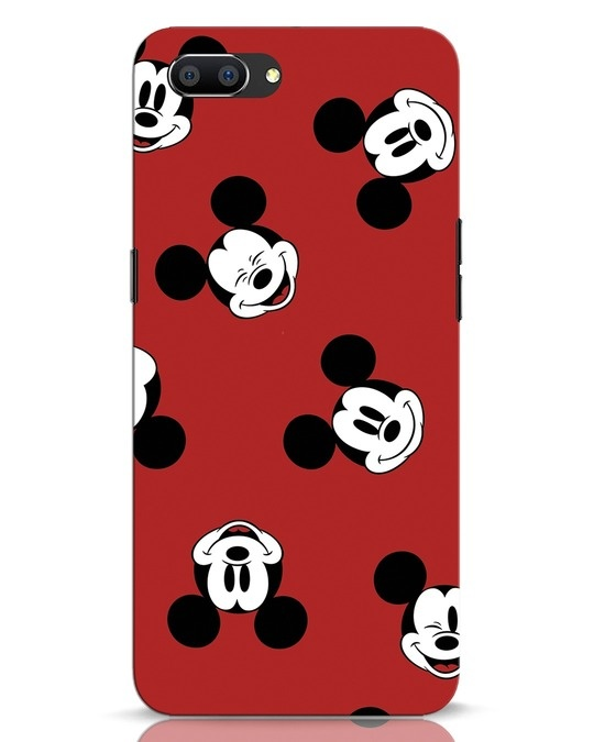 Shop Mickey Pattern Realme C1 Mobile Cover-Front