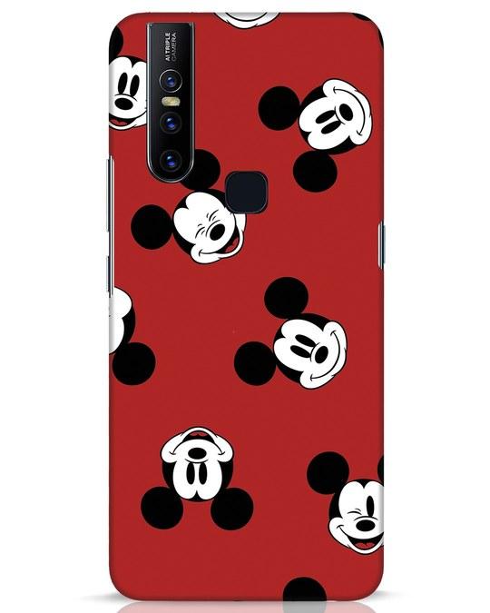 Shop Mickey Pattern Vivo V15 Mobile Cover-Front