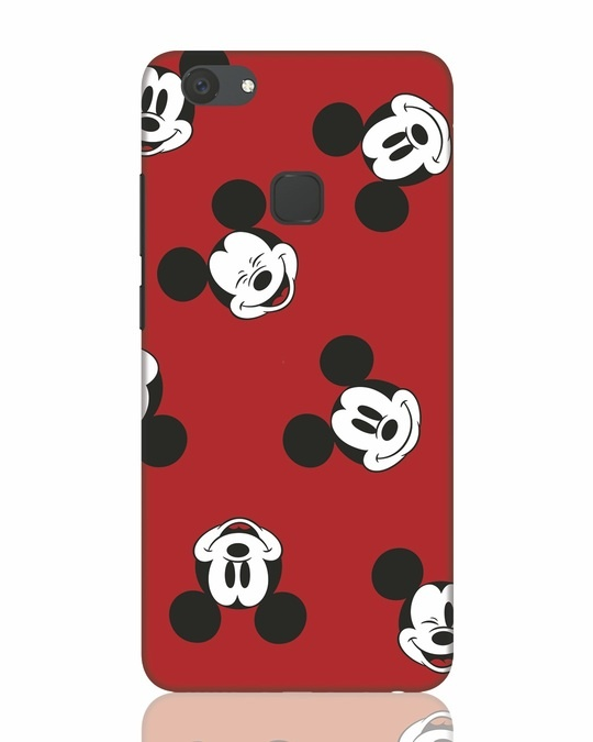 Shop Mickey Pattern Vivo V7 Plus Mobile Cover-Front