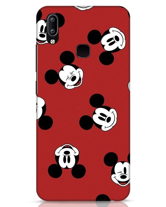 Shop Mickey Pattern Vivo Y91 Mobile Cover-Front