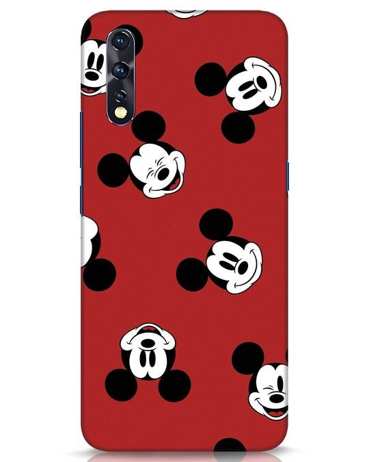 Shop Mickey Pattern Vivo Z1x Mobile Cover-Front
