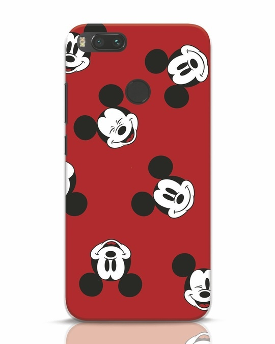 Shop Mickey Pattern Xiaomi Mi A1 Mobile Cover-Front