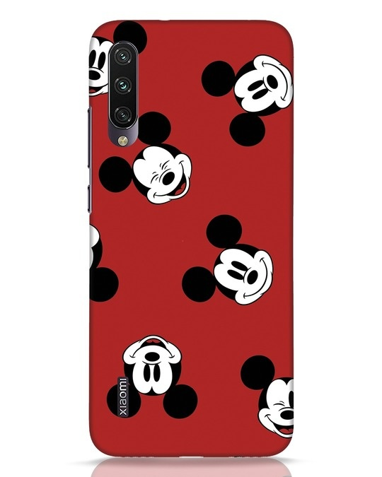 Shop Mickey Pattern Xiaomi Mi A3 Mobile Cover-Front