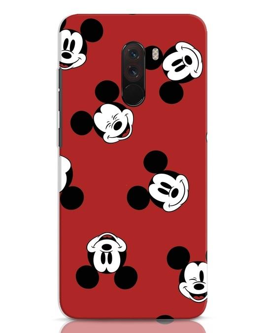 Shop Mickey Pattern Xiaomi POCO F1 Mobile Cover-Front