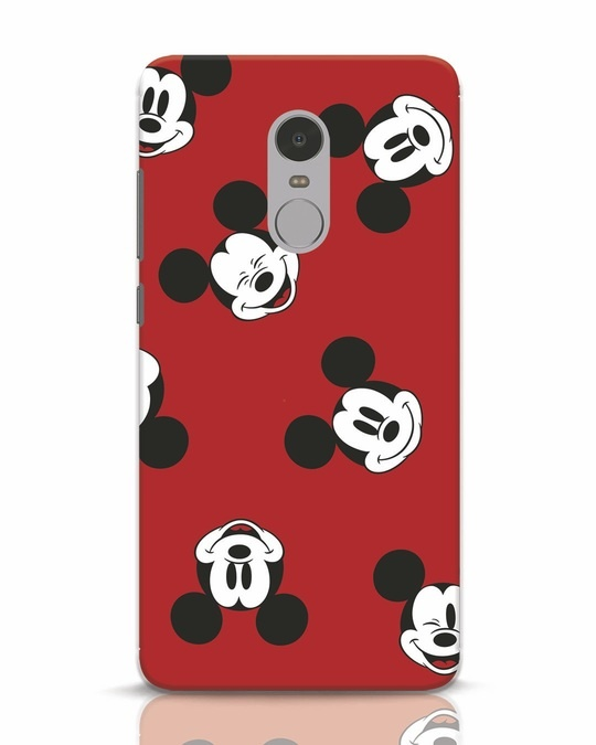 Shop Mickey Pattern Xiaomi Redmi Note 4 Mobile Cover-Front