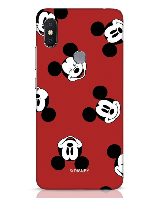 Shop Mickey Pattern Xiaomi Redmi Y2 Mobile Cover-Front