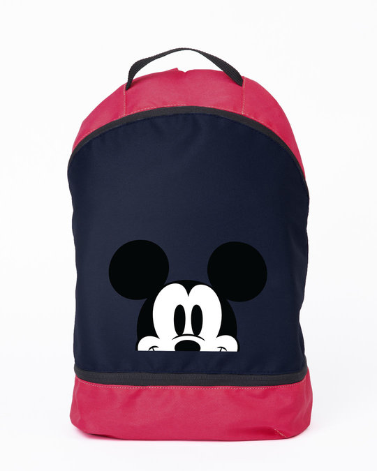 Shop Mickey Peeping Essential Mini Backpack (DL)-Front