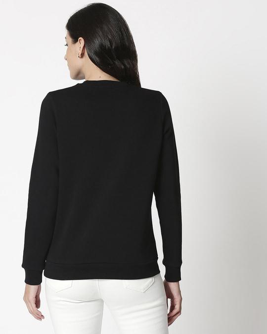 Shop Mickey Pop Block Fleece Sweater-Back