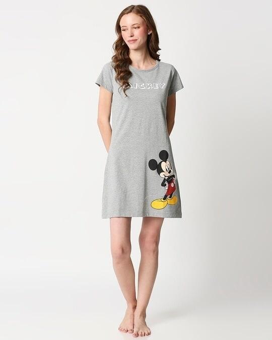 Shop Mickey Printed Night T-shirt Dress