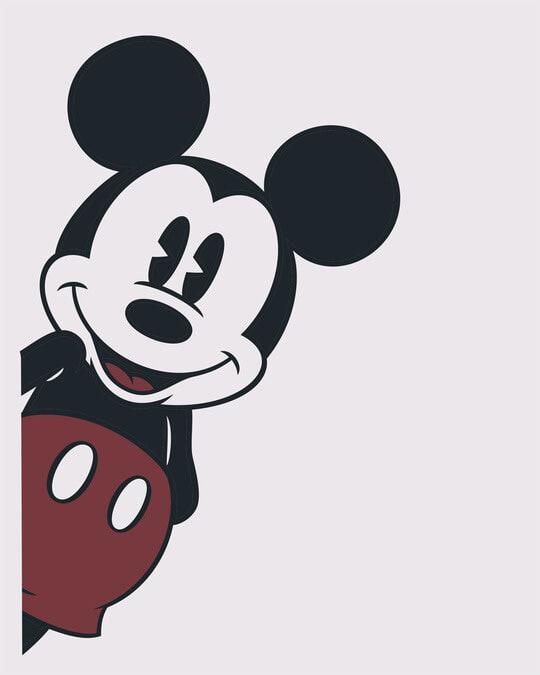 Shop Mickey Says Hi Half Sleeve T-Shirt (DL)