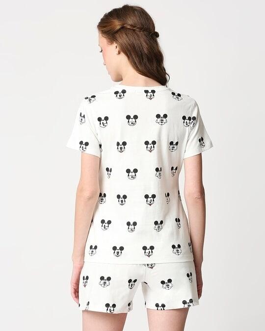 Shop Women's Printed T-shirt & Shorts Night Suit-Full