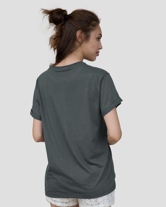 Shop Mickey Trio Call Boyfriend T-Shirt (DL)-Back