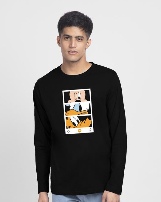 Shop Mickey Trio Call Full Sleeve T-Shirt (DL)-Back