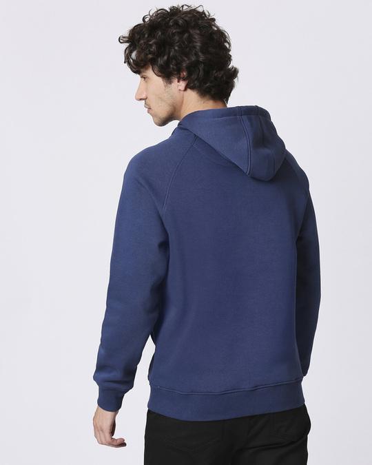 Shop Mickey Trio Stylised Panel Sweatshirt Hoodie-Back