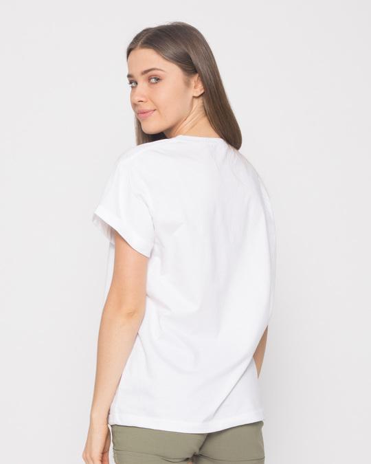 Shop Mickey Wink Boyfriend T-Shirt-Full