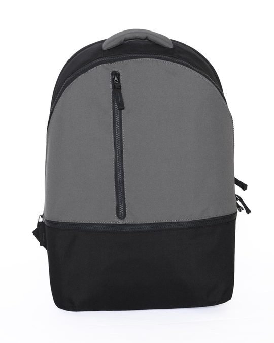 Shop Midnight Black Everyday Backpack-Front