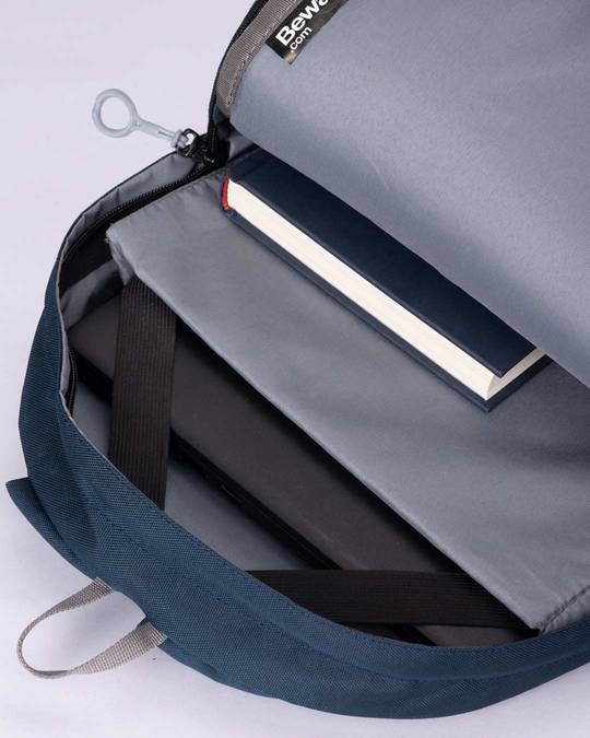 Shop Midnight Blue Laptop Backpack-Full