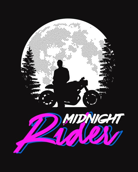 Shop Midnight Rider Full Sleeve T-Shirt-Full