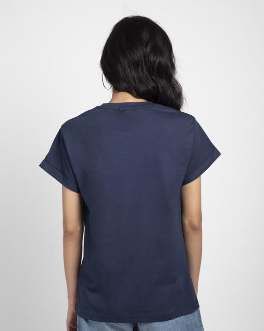 Shop Millennial Boyfriend T-Shirt-Back