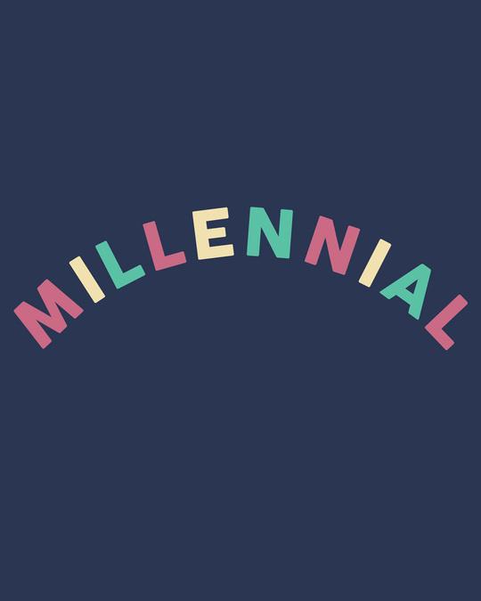 Shop Millennial Half Sleeve T-Shirt-Full
