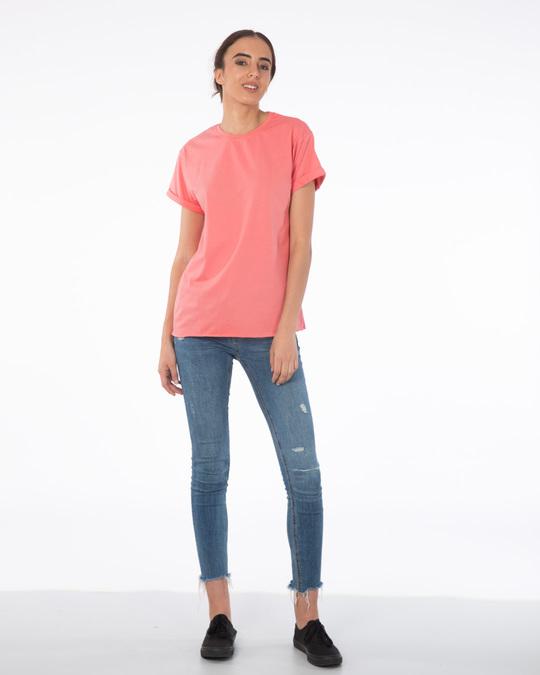 Shop Millennial Pink Boyfriend T-Shirt