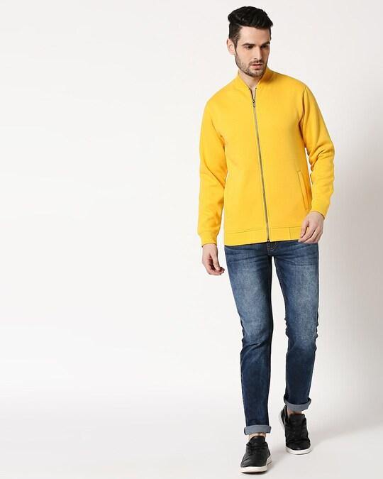 Shop Mimosa Zipper Bomber Jacket