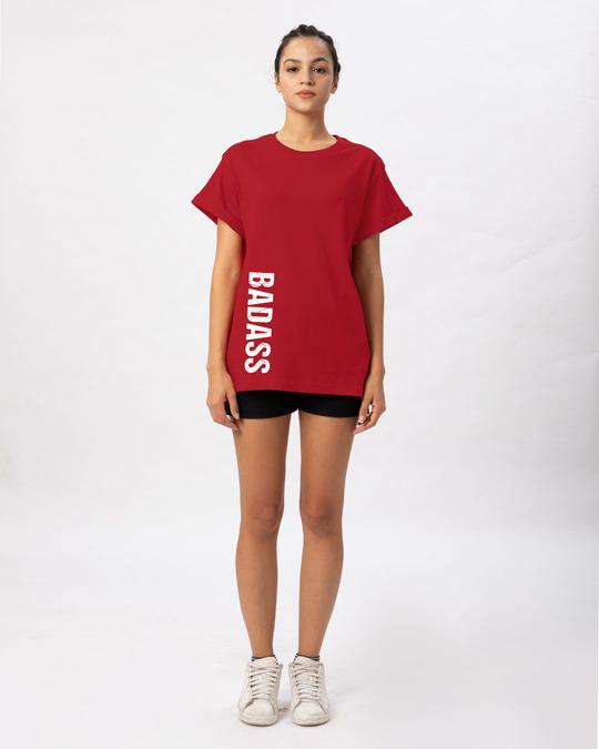 Shop Minimal Badass Boyfriend T-Shirt-Full