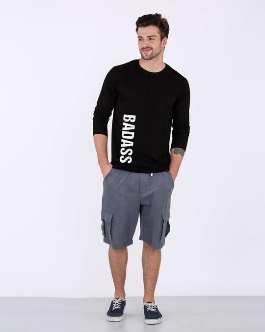 Shop Minimal Badass Full Sleeve T-Shirt-Full