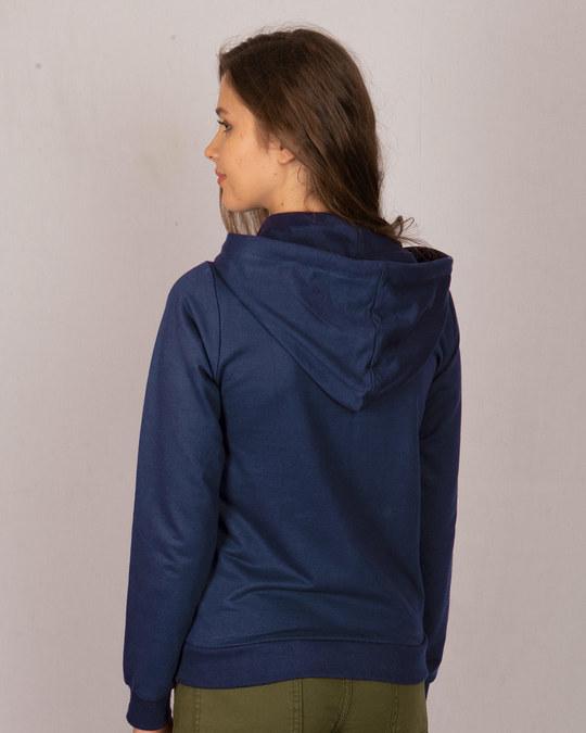 Shop Minimal Believe Fleece Hoodies-Back