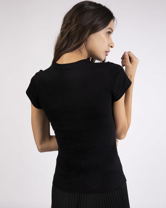 Shop Minimal Believe Half Sleeve T-shirt-Back