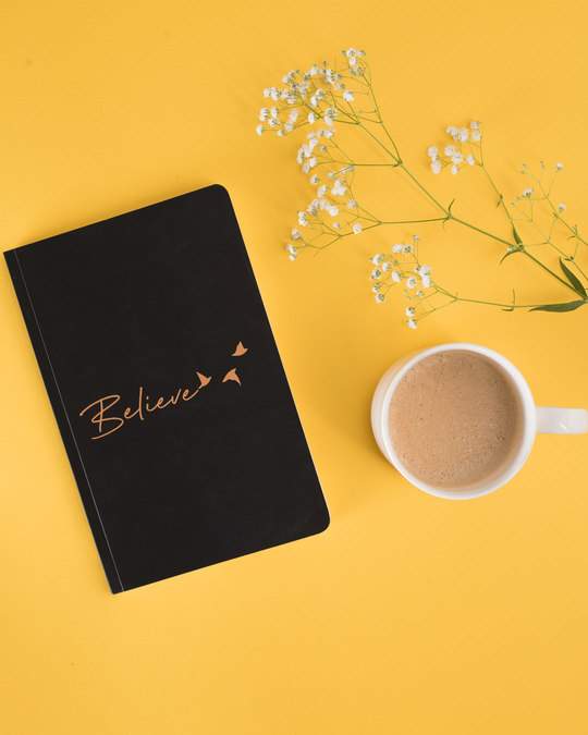 Shop Minimal Believe Notebook-Front