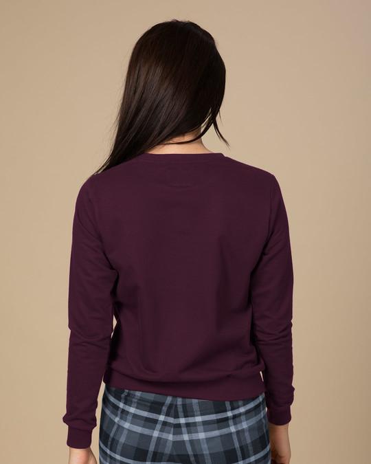 Shop Minimal Believe Sweatshirt-Back