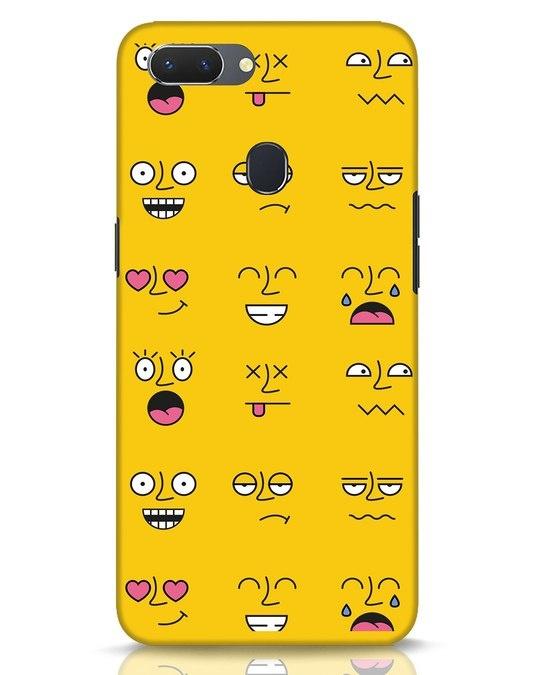 Shop Minimal Emoji Realme 2 Mobile Cover-Front