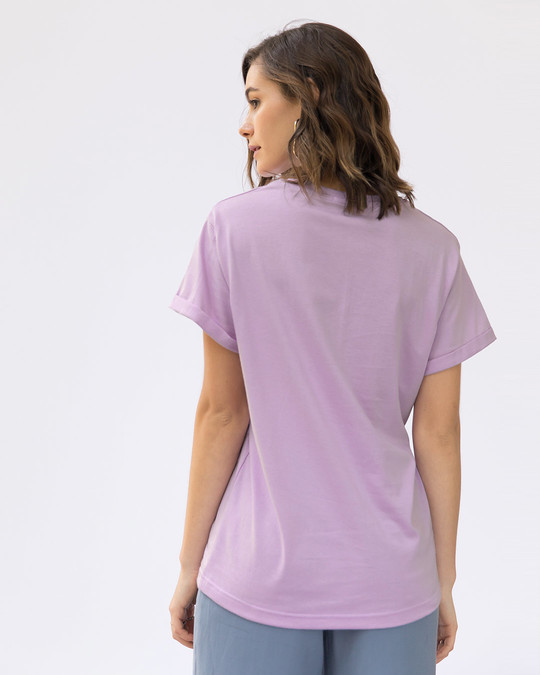 Shop Minimal Girl Power Boyfriend T-Shirt-Back