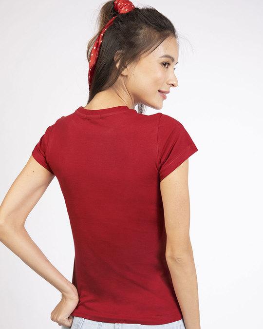 Shop Minimal Harry Potter Half Sleeve T-shirt (HPL)-Back