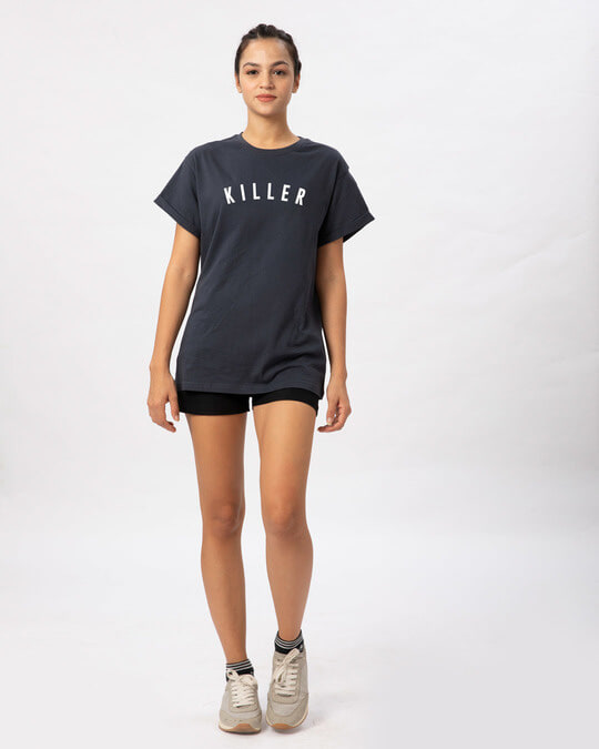 Shop Minimal Killer Boyfriend T-Shirt