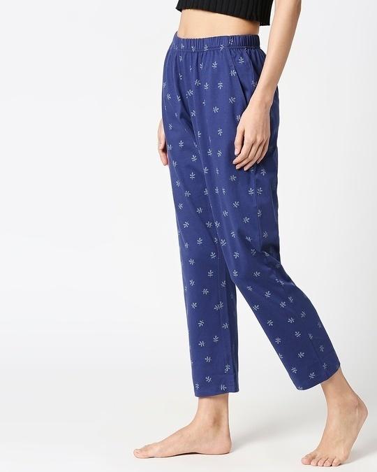 Shop Minimal Leaf AOP Pyjama-Back