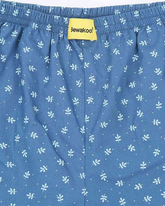 Shop Minimal Leaves All Over Printed Boxer